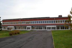 budova fitness centra